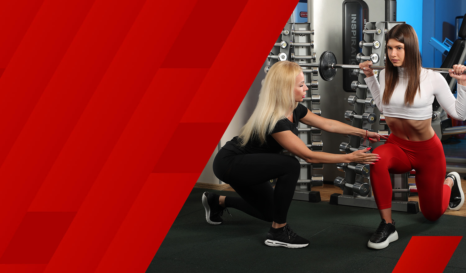Personal workout in BODYART / FITNESS