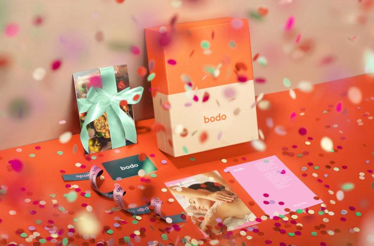 Подарочные сертификаты bodo